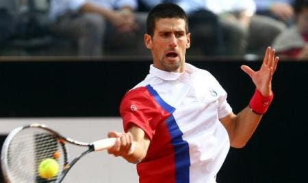 Novak Djokovic of Serbia (Photo by Julian Finney/Getty Images)