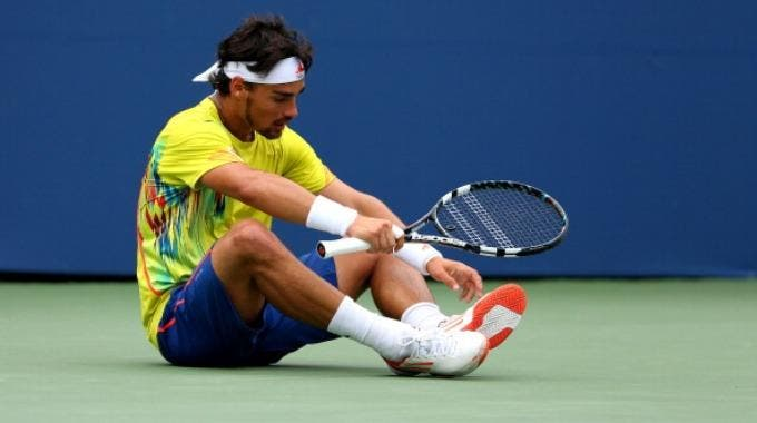 Fabio Fognini (Photo by Cameron Spencer/Getty Images)