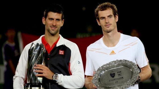 Novak Djokovic ed Andy Murray (Photo by Matthew Stockman/Getty Images)