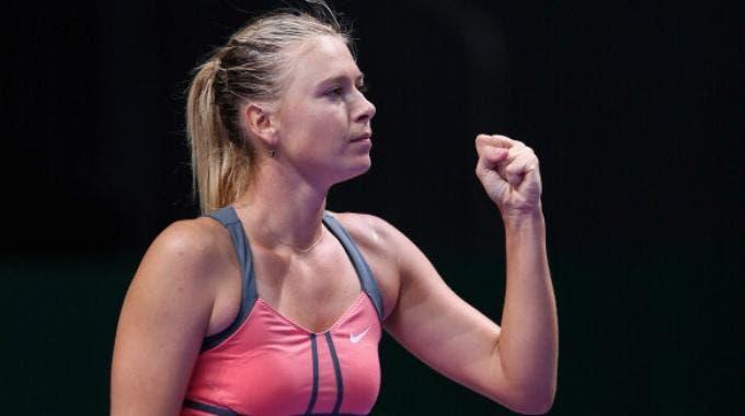 Maria Sharapova ai WTA Championships (Getty Images Europe Julian Finney )