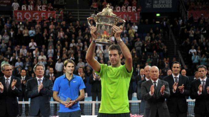 ATP Basilea, Juan Martin Del Potro (Getty Images Europe Harold Cunningham )