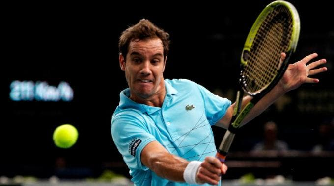 Masters 1000 Bercy, Richard Gasquet (Getty Images Europe Dean Mouhtaropoulos)