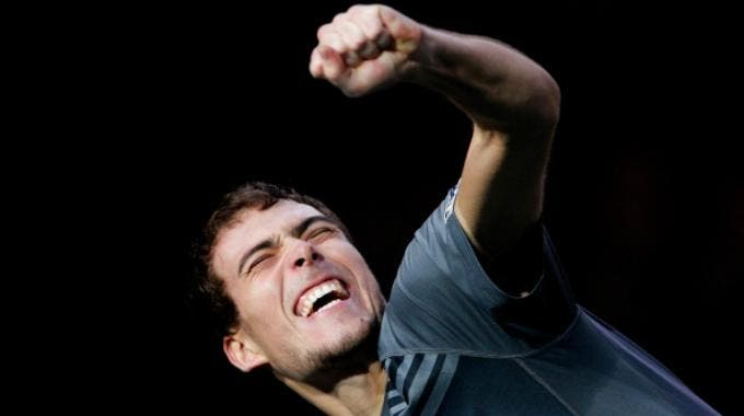 Masters 1000 Bercy, Jerzy Janowicz (Getty Images Europe Dean Mouhtaropoulos)