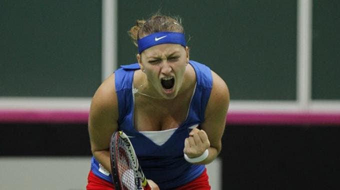 Petra Kvitova in Fed Cup