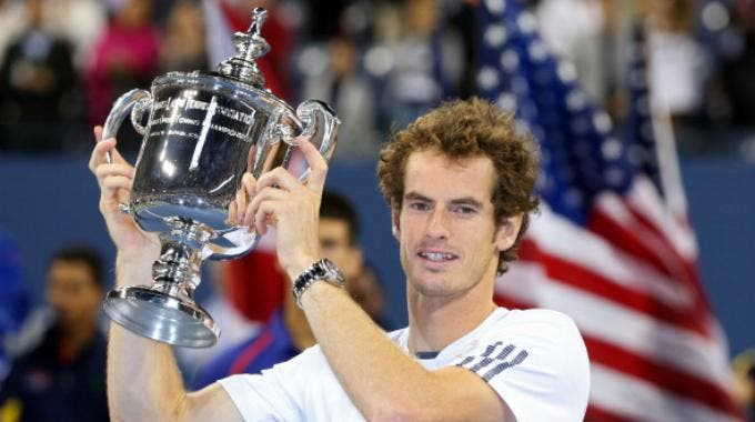 Andy Murray celebra il trionfo agli Us Open