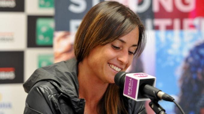 Flavia Pennetta (foto di Monique Filippella)
