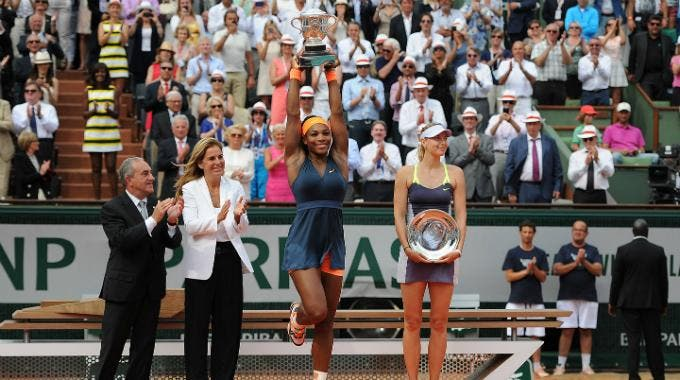 Roland Garros 2013, Serena Williams e Maria Sharapova