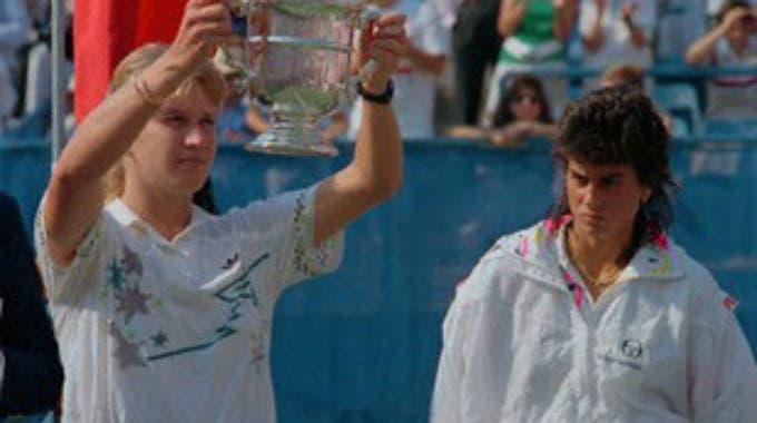 Steffi Graf batte Gabriela Sabatini e festeggia il Golden Slam