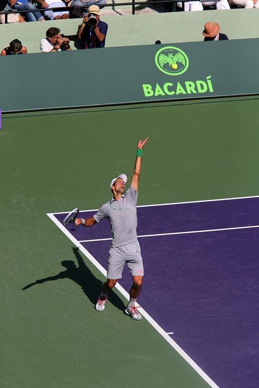 Novak Djokovic, Miami 2014 (foto Art Seitz)