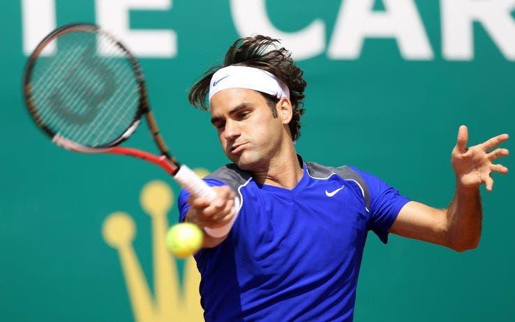 Roger Federer a Montecarlo, 2001