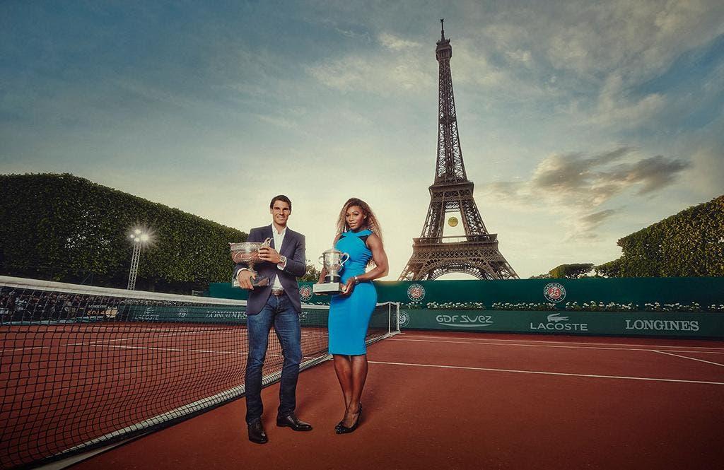 Rafael Nadal e Serena Williams, i vincitori del Roland Garros 2013