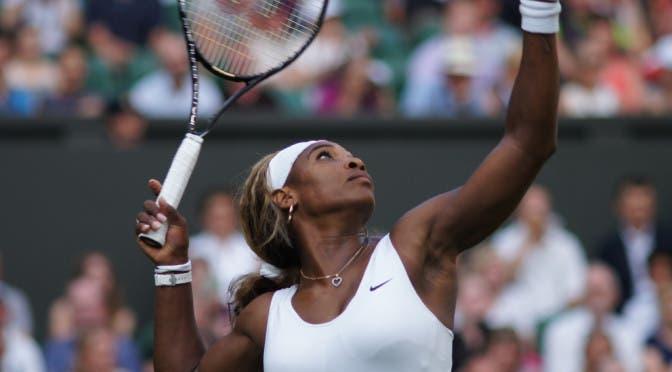 Serena Williams (foto FABRIZIO MACCANI)