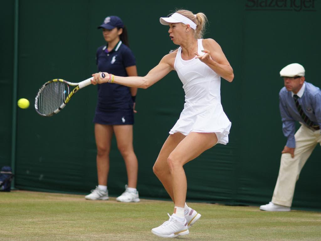 Caroline Wozniacki (foto FABRIZIO MACCANI)