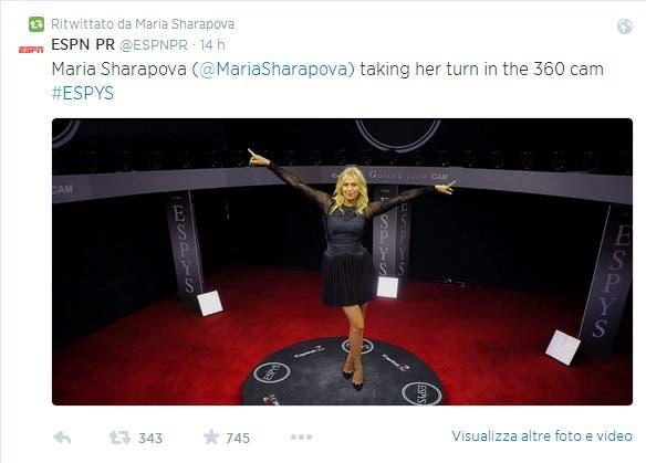 Maria Sharapova  MariaSharapova  su Twitter