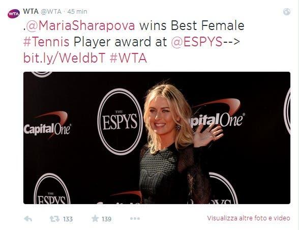 WTA  WTA  su Twitter