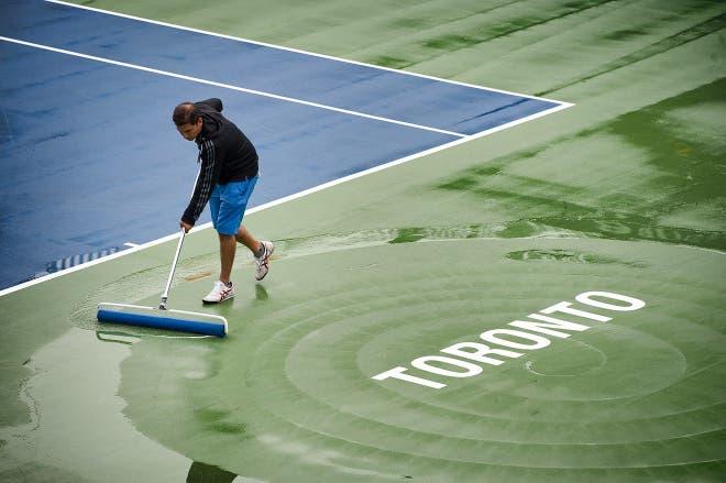 WTA Toronto: la pioggia cancella la sessione serale