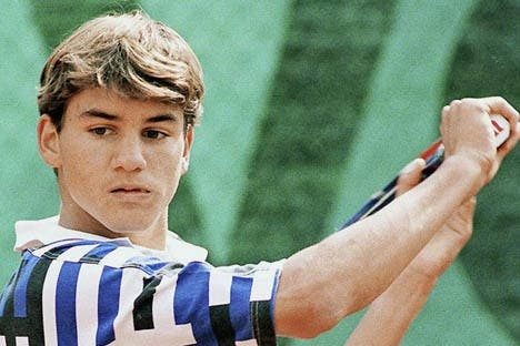 Roger Federer: When I was young...