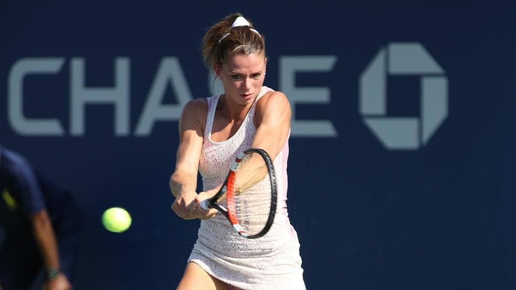 Camila Giorgi, US Open 2014 (foto LUIGI SERRA)