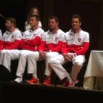 Team svizzero di Coppa Davis, Ginevra 2014