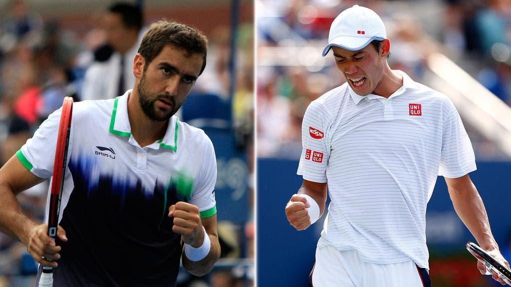 Marin Cilic vs Kei Nishikori, US Open 2014