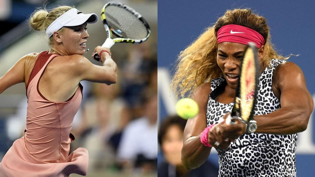 Caroline Wozniacki e Serena Williams, US Open 2014