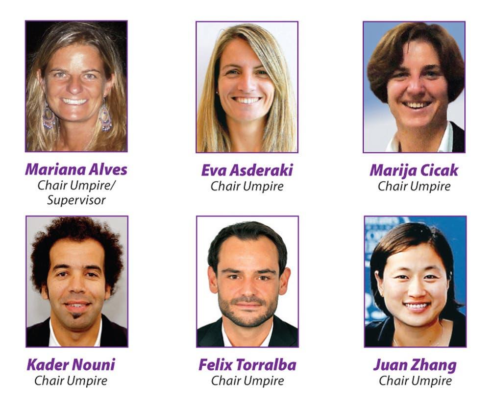 Arbitri WTA