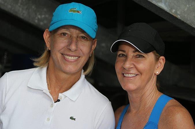 Navratilova ed Evert, Tennis Classic (foto ART SEITZ)