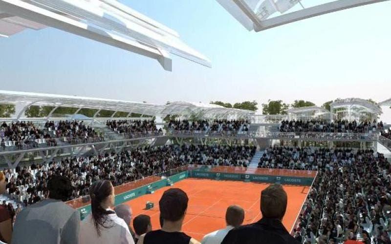 Bufera Roland Garros, fermati nuovamente i lavori di ampliamento