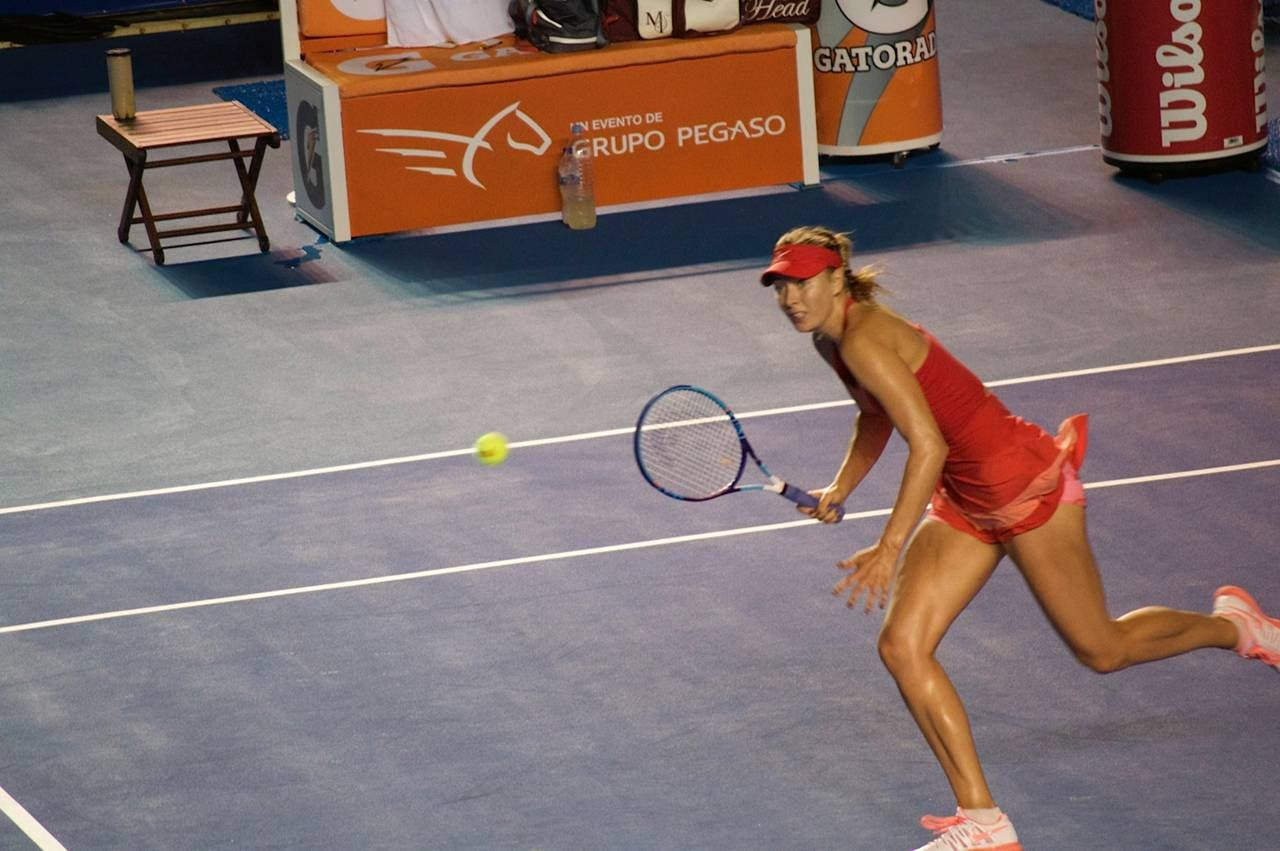 Maria Sharapova al torneo WTA Acapulco 2015