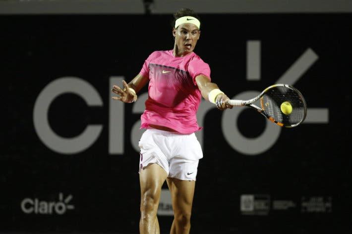 Rafael Nadal al torneo di Rio de Janeiro