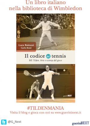 """Copertina """"Il Codice del Tennis"""""""
