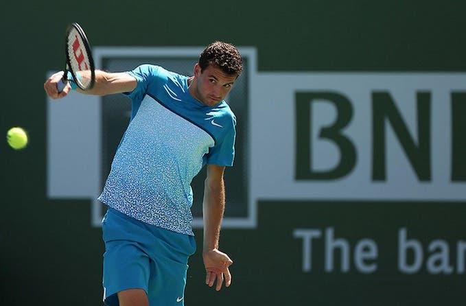 Dimitrov al torneo di Indian Wells 2015