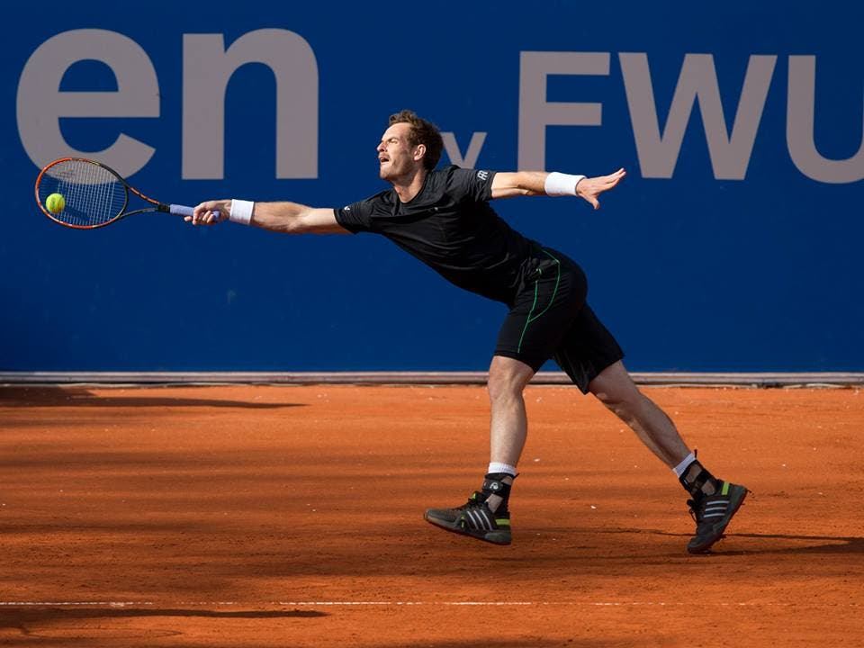 Andy Murray, remare non è più in voga