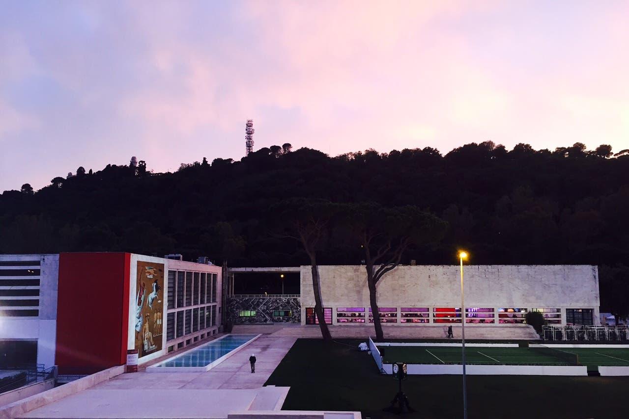 L'ex Casa delle Armi, ora Players Lounge degli Internazionali d'Italia (foto C. Giuliani)