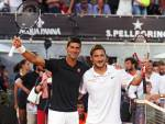 Djokovic e Francesco Totti