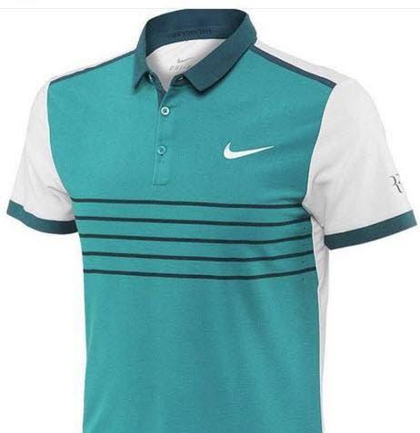 Per quelle notturne Federer veste una polo verde ... 5d7f12255e8