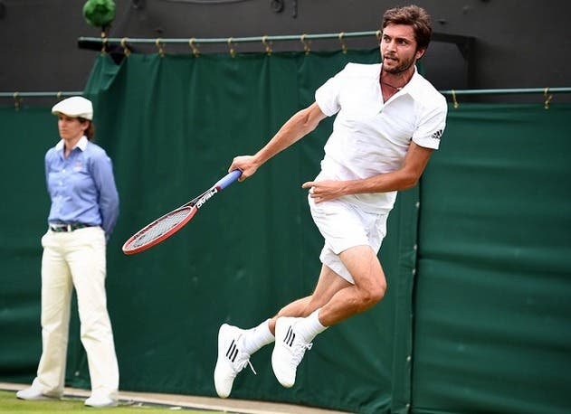 """Gilles Simon, l'ultimo degli """"operai"""" a Wimbledon"""