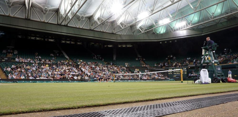 Wimbledon, tetto chiuso per la finale femminile