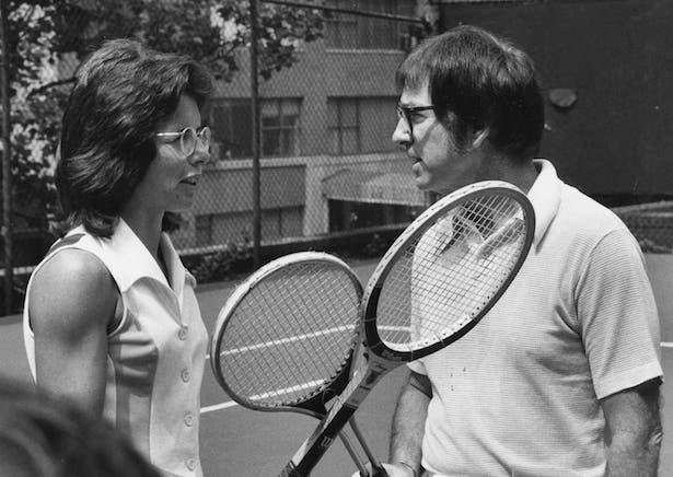 Billie Jean King e Bobby Riggs - 1973