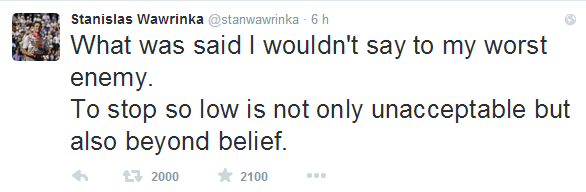 Stanislas Wawrinka   stanwawrinka    Twitter 2