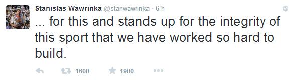 Stanislas Wawrinka   stanwawrinka    Twitter 4