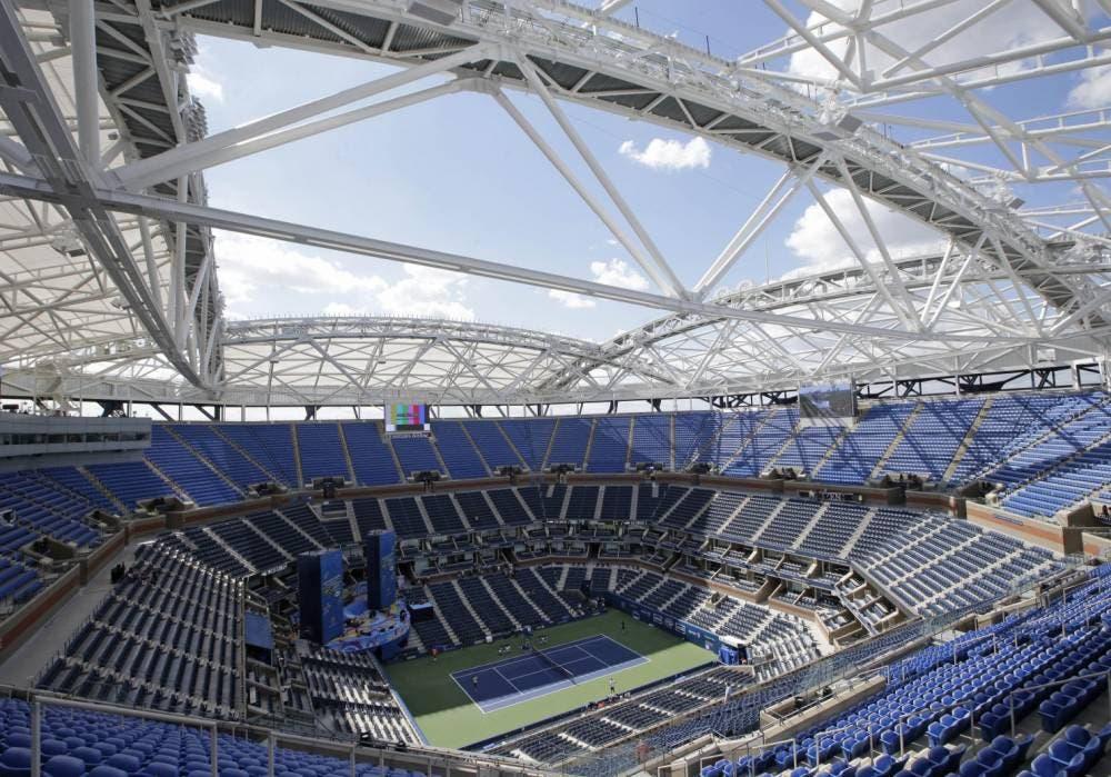 L'Arthur Ashe Stadium per l'edizione 2015