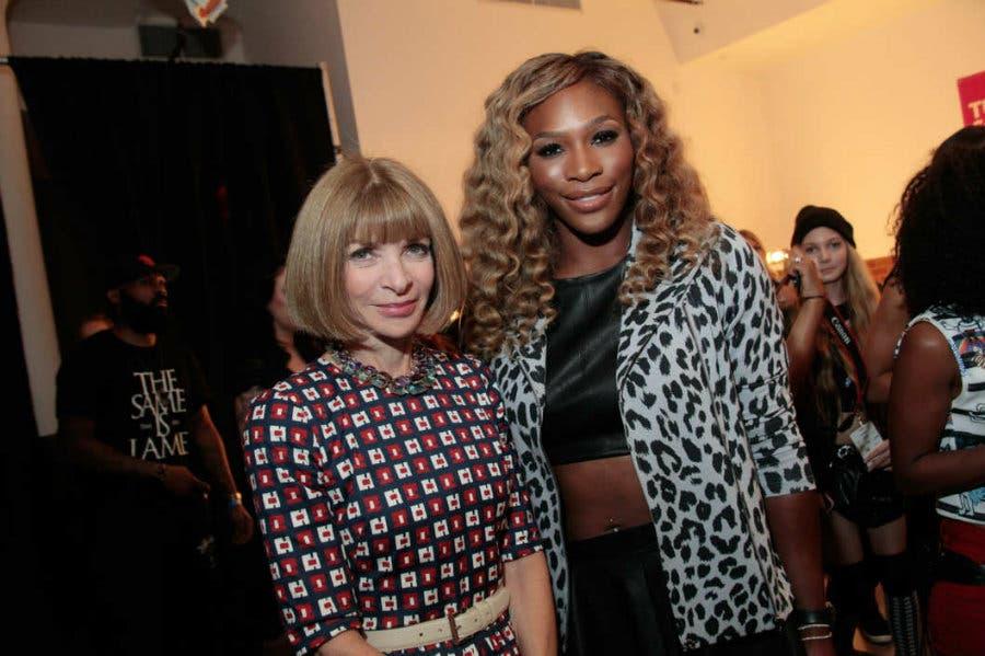 Anna Wintour e Serena Williams