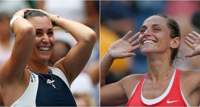 Flavia Pennetta e Roberta Vinci - F US Open 2015