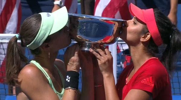 Martina Hingis e Sania Mirza - US Open 2015