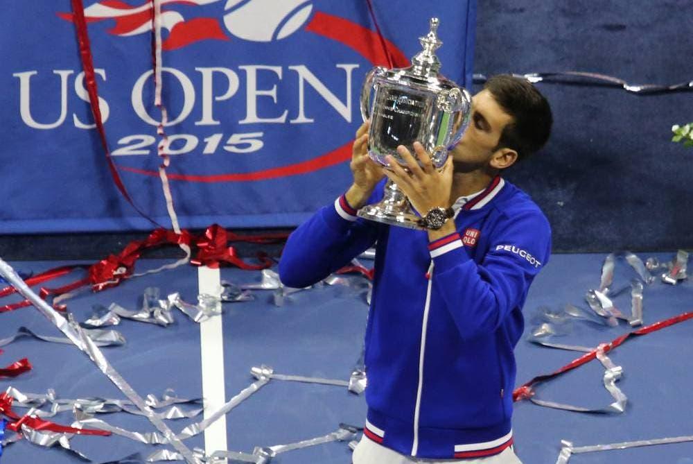 Novak Djokovic - US Open 2015 (foto di Art Seitz)