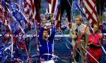 Novak Djokovic alza il trofeo - F US Open 2015 (foto di Art Seitz)