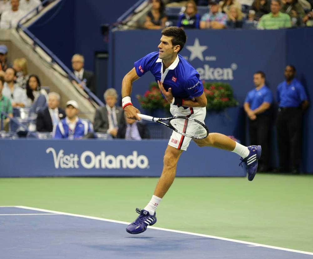 Novak Djokovic - F US Open 2015 (foto di Art Seitz)