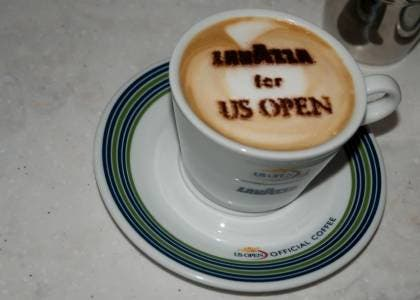 Lavazza for US Open (photo by AK Media Services)