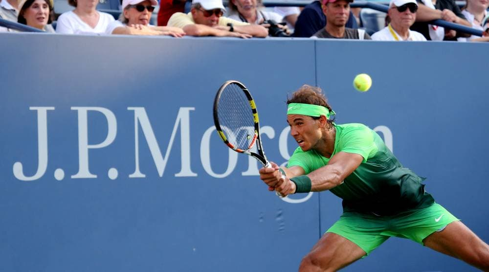 Rafael Nadal - US Open 2015 (photo by Art Seitz)